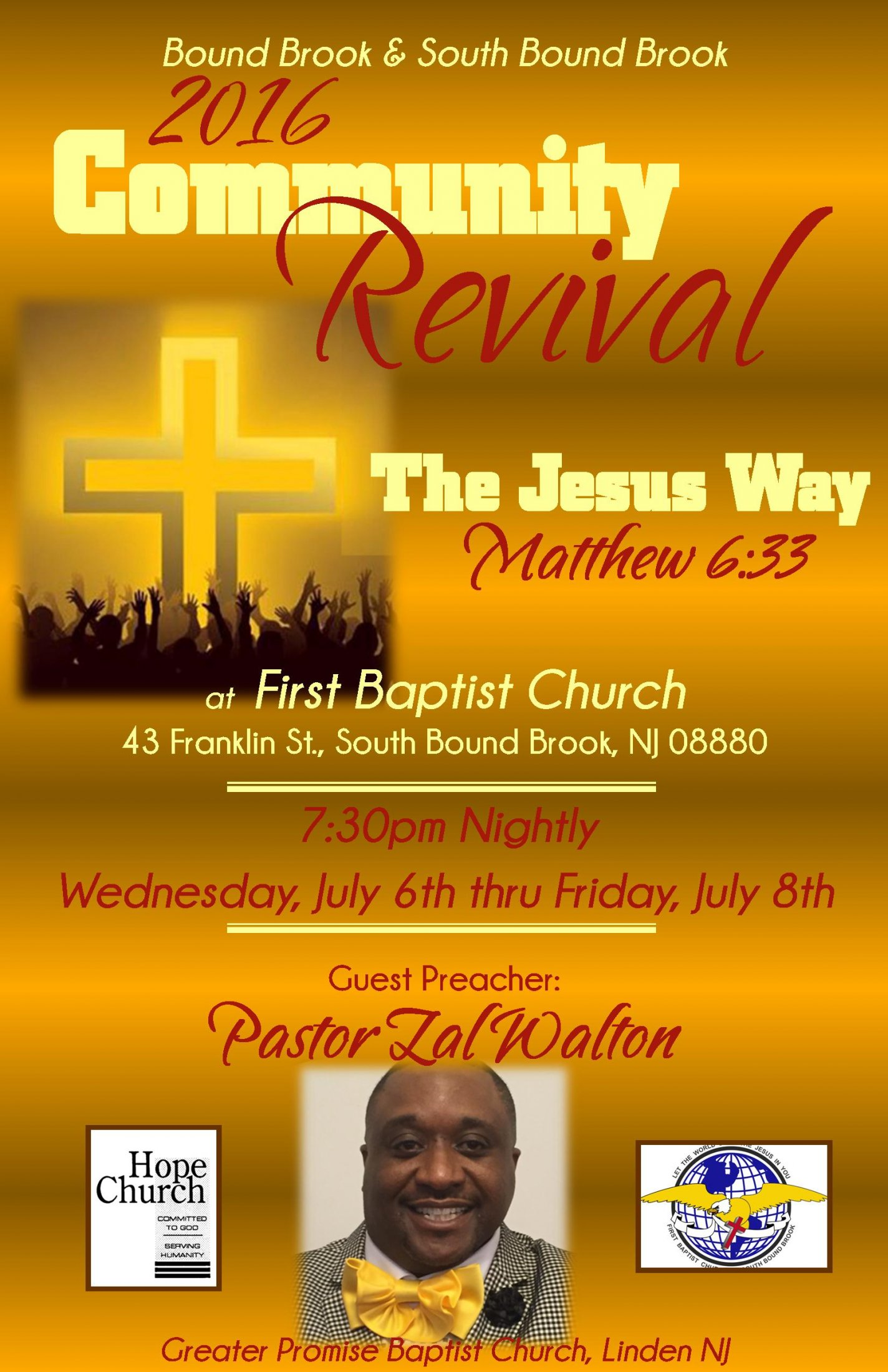 revival flyer community revival 2016 flyer