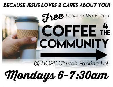 Coffee 4the Community 2017 Flyer